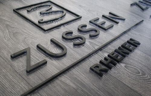 freesletters, kunststof letters, gevel letters