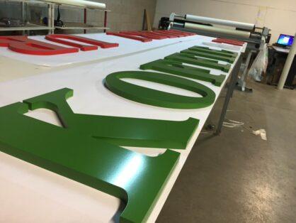 PVC schuim letters, pvc freesleters, 10mm pvc schuim, foam letters