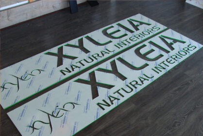 Freesletters, acrylox letters