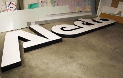 led reclame, led letters, doosletters, doosletter prijzen