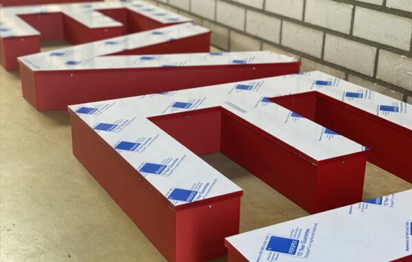 boxletters, doosletters, doosletter, 3D letter