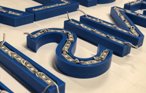 19mm acrylaat led